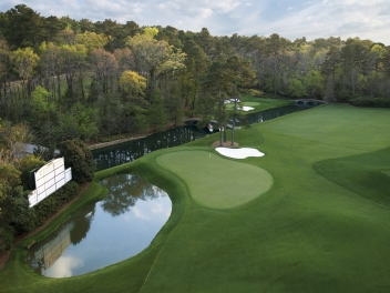 #11 at Augusta National green