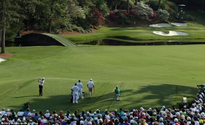 #12 at Augusta National