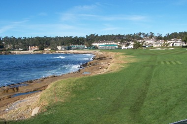 #18 at Pebble Beach