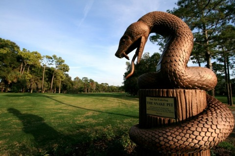 copperhead-snake-statue